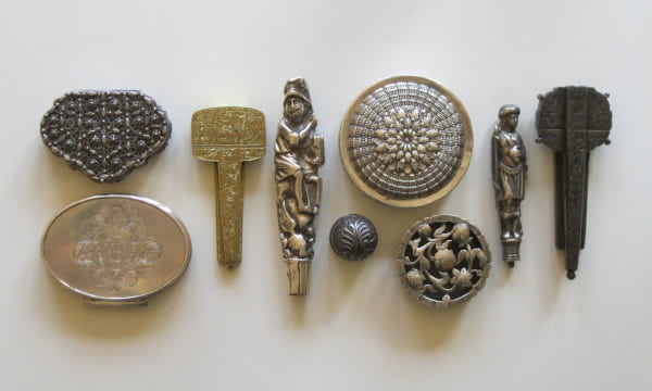 Collection of metal antiques